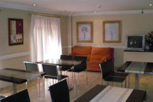 Vista panorámica habitación hotel Acenida Leganés